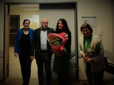 Glückwunsch vom Vorstand