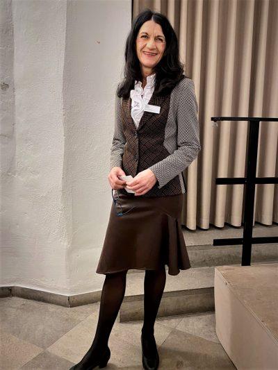 Andrea Schmidt beim Neujahrsempfang