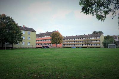Notwohngebiet in der Kitzinger Siedlung