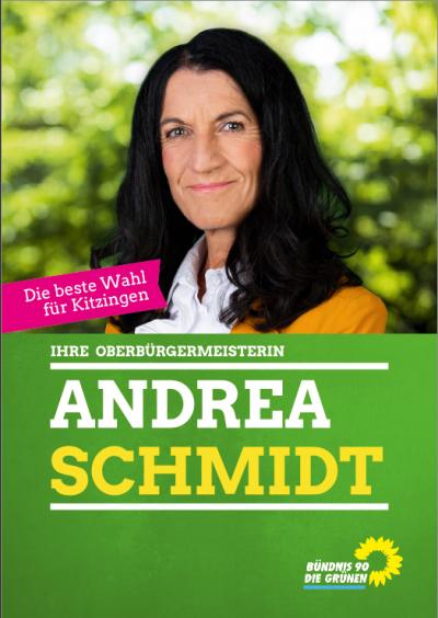 Wahlplakat Andrea Schmidt
