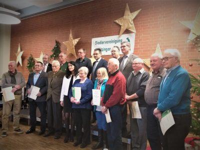 Ehrungen der Siedlervereinigung Kitzingen